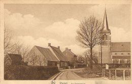 Viersel ( Zandhoven) : De Beemdstraat Met Kerk - Zandhoven
