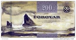 FAEROE P. 31 200 K 2011 UNC - Faroe Islands