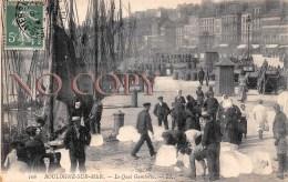 (62) Boulogne Sur Mer - Le Quai Gambetta - Boulogne Sur Mer