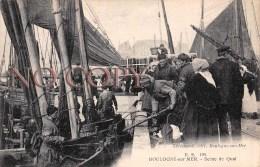 (62) Boulogne Sur Mer - Scène De Quai 1923 - Boulogne Sur Mer