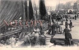 (62) Boulogne Sur Mer - Embarquement Des Filets - Boulogne Sur Mer