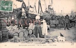(62) Boulogne Sur Mer - Sur Les Quais - Boulogne Sur Mer