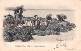 (62) Boulogne Sur Mer - Types De Moulières - Boulogne Sur Mer