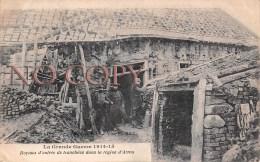 (62) La Grande Guerre 1914 1915 - Boyaux D'entrée De Tranchées Dans La Région D'Arras - Arras