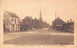 (62) Calonne Sur La Lys - Vue De La Place Vers L'Eglise - Altri Comuni