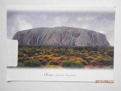 Postcard Uluru Central Australia My Ref B21877 - Outback