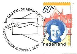 Netherlands - 1981 - Luchthaven Schiphol - Gull - Gaviotas