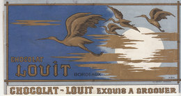 Enballage Tablette Chocolat Louit, Exquis à Croquer,parfait à La Tasse (2 Scans) - Alimentare