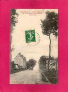 27 EURE, GAILLON, La Côte Sainte Barbe, Ou Se Fait La Course Automobile, Animée, Voiture, 1923, (A. Lavergne) - Frankrijk