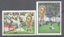 Honduras 1998 Yvert A 953-54, FIFA World Cup France 1998 - Air Mail - MNH - Honduras