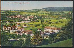°°° 7014 - GERMANY - LORRACH MIT BLICK GEGEN TUMRINGEN -  1927 With Stamps °°° - Loerrach