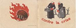 """Charbon, Chauffage : Dépliant Pub """"Contre La Crise, Les Boulets Spéciaux DELMAS"""" 16 Pages (4 Scans) - Publicidad"""