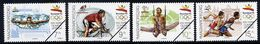 HUNGARY 1992 Olympic Games Set  With Specimen / Muster Cancellation MNH / **.  Michel 4184-87 - Hungary