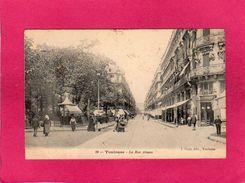 31 Haute Garonne, TOULOUSE, La Rue Alsace, Animée, Commerces, 1905, (J. Picot) - Toulouse