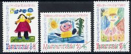 HUNGARY 1992 Youth Charity Set With Specimen / Muster Cancellation MNH / **.  Michel 4197-99 - Hungary
