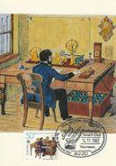 Germany - Telegrafenbüro.   Maxicard.  Used 1982  Postmark: Traunstein Oberbay1.  # 07122 - Postal Services