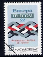 HUNGARY 1992 Telecom '92  With Specimen / Muster Cancellation MNH / **.  Michel 4215 - Hungary