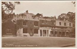''Farringford''  - The Home Of The Late Lord Tennyson, Freshwater I.W. - ( England) - Otros
