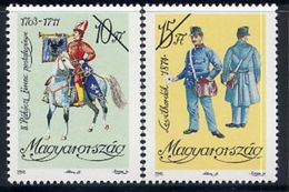 HUNGARY 1992 Postal Uniforms With Specimen / Muster Cancellation MNH / **.  Michel 4225-26 - Hungary