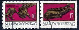 HUNGARY 1993 Scythian Jewellery With Specimen / Muster Cancellation MNH / **.  Michel 4234-35 - Hungary