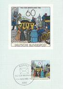 Germany - Tag Der Briefmarke    Maxicard.  Used 1981  Postmark: Bonn.   # 07125 - Postal Services