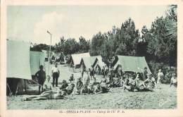 62 STELLA PLAGE CAMP DE L U.F.A / SCOUT / SCOUTISME - France