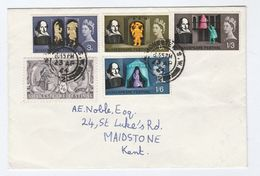 1964 Totnes Cds GB FDC Stamps SHAKESPEARE Cover Theatre - FDC