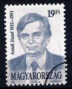 HUNGARY 1993 Death Of Antall With Specimen / Muster Cancellation MNH / **.  Michel 4273 - Hungary