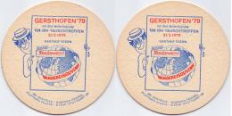 #D160-078 Viltje Hasenbräu Augsburg - Sous-bocks