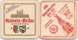 #D160-094 Viltje Hasenbräu Augsburg - Bierdeckel