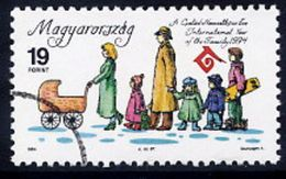 HUNGARY 1994 Year Of The Family With Specimen / Muster Cancellation MNH / **.  Michel 4301 - Hungary
