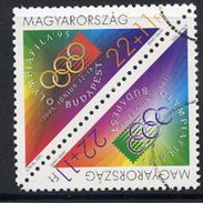 HUNGARY 1995 OLYMPIAFILA '95 With Specimen / Muster Cancellation MNH / **.  Michel 4347-48 - Hungary