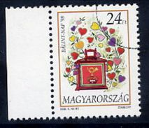 HUNGARY 1998 St. Valentine's Day With Specimen / Muster Cancellation MNH / **.  Michel 4479 - Hungary