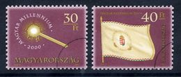 HUNGARY 2000 Millennium I With Specimen / Muster Cancellation MNH / **.  Michel 4571-72 - Hungary