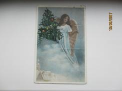 ESTONIA , CHRISTMAS ,  ANGEL    , OLD POSTCARD , KO - Noël