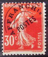 FRANCE              PREO. N° 58            NEUF** - Préoblitérés