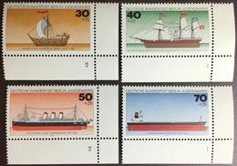 Germany Berlin 1977 Ships MNH - Nuevos