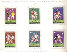 POSTA ROMANA ROMANIA   FIFA WORLD CUP 1974 GERMANY 1974 - 1974 – Germania Ovest