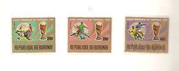 REPUBLIQUE DU BURUNDI  AEREO FIFA WORLD CUP 1974 GERMANY 1974 - 1974 – Germania Ovest