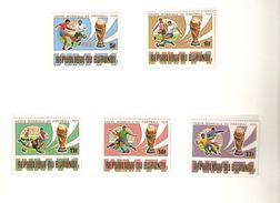 REPUBLIQUE DU BURUNDI  FIFA WORLD CUP 1974 GERMANY 1974 - 1974 – Germania Ovest