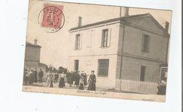 BRUGES (GIRONDE)  LA POSTE 7 (BELLE ANIMATION) 1904 - France