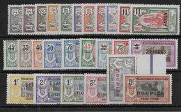 INDE - YVERT N°59/78 **/* - CHARNIERE LEGERE , QUELQUES SANS CHARNIERE - COTE = 97++ EUROS - Unused Stamps