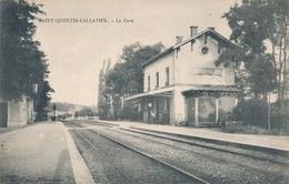 SAINT QUENTIN FALLAVIER - LA GARE - Frankrijk