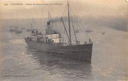 56-QUIBERON- DEPART DU BATEAU -POSTE POUR BELLE ISLE - Quiberon
