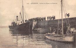 56-QUIBERON- ARRIVEE DU VAPEUR DE BELLE ISLE - Quiberon