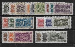 INDE - YVERT N°236/253 + 255/257 * - CHARNIERE CORRECTE - COTE = 40 EUROS - Unused Stamps