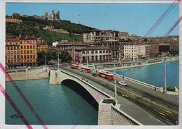 Cpm 6911707 Lyon La Saone Pont Bonaparte - Lyon