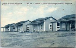 AFRIQUE -- ANGOLA -- JOÄO L. CARREIRA BENGUELLA - N° 14 - Angola