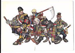 CPA Illustrée D'Arthur Szyk  - Stahlpakt - Satire De L'alliance De L'Axe - WW2 - 1945 - Humoristiques