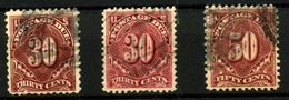 1155- Estados Unidos Nº 34/5 - 1845-47 Emissions Provisionnelles